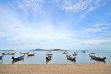 Free Thai Boat Royalty Free Stock Photography - 15014787