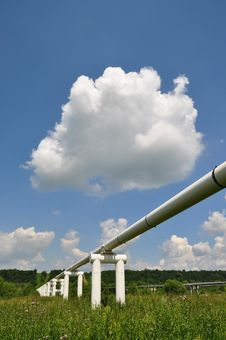 Free The Main Oil Pipeline Of A High Pressure. Royalty Free Stock Photos - 15015018