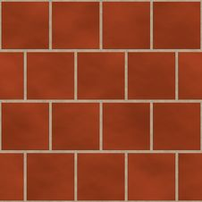 Free Seamless Red Square Tiles Texture Royalty Free Stock Images - 15015039