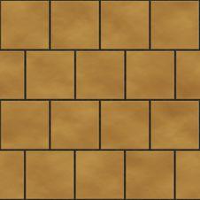 Free Seamless Yellow Square Tiles Texture Stock Image - 15015081