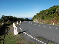 Road In Madeira Island Stock Image