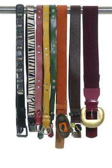 Free Fashionable Belts Stock Photos - 15015423