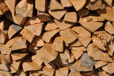 Free Beechen Fire Wood. Royalty Free Stock Photos - 15015608