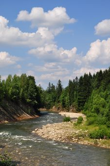 Free Mountain Small River. Stock Photography - 15015682