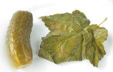 Free Marinated Cucumber Royalty Free Stock Photos - 15015728