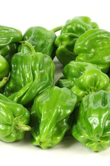 Free Green Pepper Stock Photo - 15015820