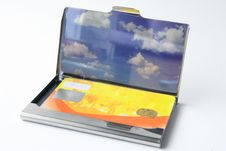 Free Business Card Case Royalty Free Stock Images - 15015949