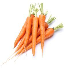 Ripe Fresh Carrots Stock Images