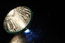 Free Flashlight And Water Stock Photo - 15017330