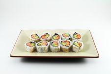 Free Fresh Sushi Stock Image - 15018131