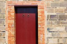 Free Door And Wall Royalty Free Stock Photography - 15018877