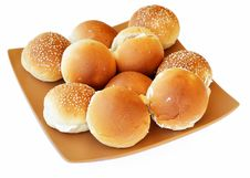 Free Bun With Cheese_01 Royalty Free Stock Photography - 15019017