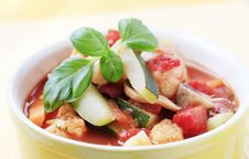 Free Minestrone Soup Royalty Free Stock Image - 15019056