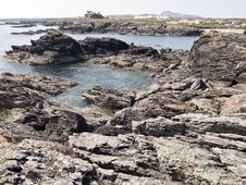 Free Anglesey Coast Rockpool Wales Stock Photo - 15019120
