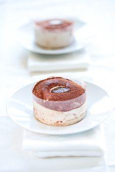 Free Tasty Home Made Tiramisu Cake Stock Image - 15019351