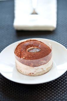 Free Tasty Home Made Tiramisu Cake Royalty Free Stock Photo - 15019375