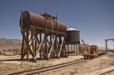 Free Old Fuel And Water Tank Stock Photography - 15019432