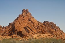 Free Rock Formation From Valley Of Fire Royalty Free Stock Photography - 15019617