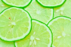 Free Lime Slice Stock Photo - 15019870