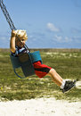 Free On The Swing Royalty Free Stock Photo - 15024675