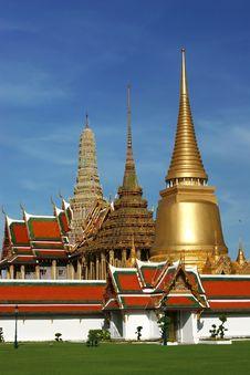 Free Grand Palace In Bangkok, Thailand Royalty Free Stock Photos - 15020098