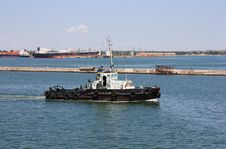 Free Tugboat At Port Stock Photography - 15020432