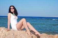 Free Beautiful Young Woman Near Sea Stock Photo - 15020630