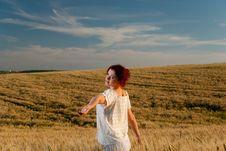 Free Wheat Field Joy Stock Image - 15020631