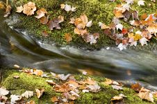 Free Autumn Waterfall Royalty Free Stock Images - 15020829