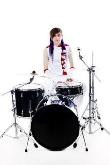 Drummer Rock Stock Images
