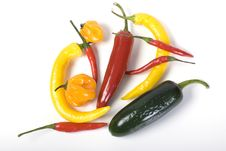 Free Chili Mix Royalty Free Stock Photo - 15022005