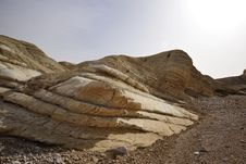 Free Hiking In Negev. Royalty Free Stock Photo - 15022055