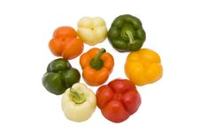 Free Paprika Pieces Stock Photography - 15022612
