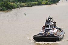 Free Tugboat Royalty Free Stock Photos - 15022818
