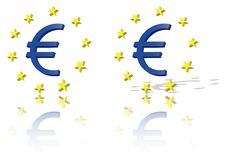 Free Euro Symbol, European Union Unit Of Currency Royalty Free Stock Photography - 15023127