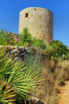 Els Molins - Javea - Costa Blanca - Spain Stock Photos