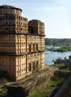 Free Orchha Masterpiece, India Royalty Free Stock Photo - 15024315