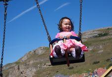 Free Swinging Toddler Royalty Free Stock Photos - 15024368
