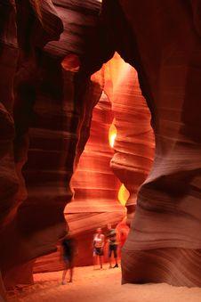 Free Antelope Canyon Arizona Mountain Royalty Free Stock Photography - 15025307