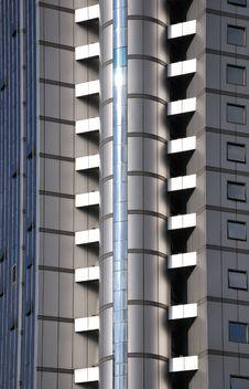 Free External Pattern Of Modern Building Stock Image - 15025521