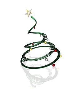 Free Christmas Tree Royalty Free Stock Photo - 15026425
