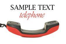 Free Retro Telephone Receiver Royalty Free Stock Photo - 15028745