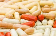 Free Heap Of Pills Stock Photo - 15028770