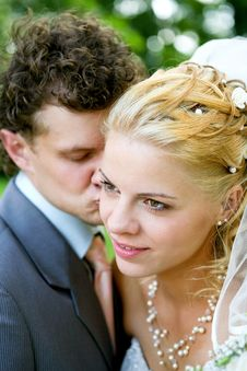 Free Newlyweds Royalty Free Stock Images - 15029049