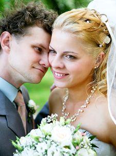 Free Newlyweds Royalty Free Stock Image - 15029106