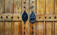 Free Church Door Close-Up Royalty Free Stock Photos - 15030198