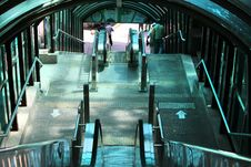 Free Ladder To Yandusan Park Conducting Downwards Royalty Free Stock Photo - 15030705