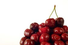 Free Fresh Cherries Royalty Free Stock Photo - 15032435