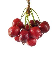 Free Red Cherries Stock Images - 15032534