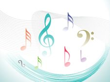 Free Abstract Musical Words Royalty Free Stock Image - 15032616